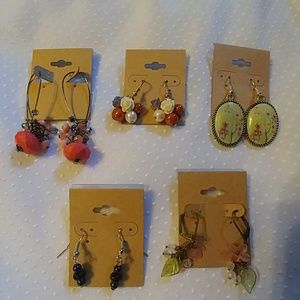NWT & EUC Bundle of Fun Earrings